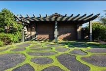 Outdoor Spaces / Outdoor living, beautiful back yards, pools and exteriors