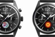 BELL & ROSS / Bell & Ross fue lanzada en 1992. Los primeros relojes fueron diseñados por Belamich y Rosillo y hecho por un relojero alemán Sinn.