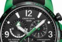 CERTINA / Novedades Relojes Certina.  En 1888 fue fundada la primera Manufactura en Grenchen – Suiza de Relojes Certina.  En la actualidad Certina continua su camino con un gran compromiso con los deportes de motor. La gran creatividad de la marca Certina, hace que desarrolle interesantes colecciones siempre bien recibidas por el publico.  http://www.relojeslujo.info/novedades-relojes-lujo/marcas-relojes-de-lujo/certina.html