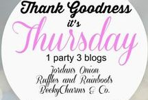 Thank Goodness It's Thursday / Posts from the Thank Goodness It's Thursday Link Party