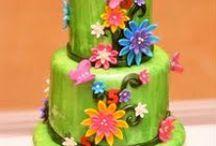 Tartas Fondant / Preciosas tartas decoradas con fondant