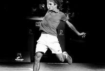 "?Tennis¿ / ""Tournaments end, dedication doesn't."" - Rafael Nadal"