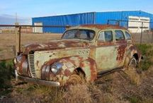 RUSTY CARS AND BARN FINDS / by Desmond C