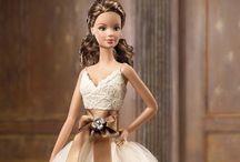 Barbie collector & porcelain dolls