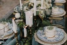 Tablescapes / Beautiful ways to decorate tables