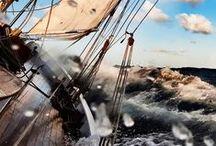 ❧ White sails