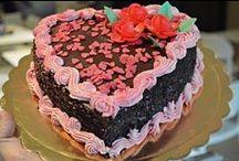 Torte San Valentino / Le nostre dolci creazioni per un indimenticabile e gustoso San Valentino.