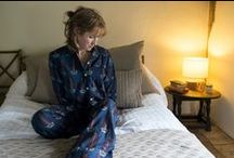 Pyjamas, dressing gowns, nightwear. / Perfect relaxed fit, 100% finiest Indian cotton pyjamas and dressing robes. Made by Tigger & Parkes, a company committed to fair wages and artisan communities.  Go to www.tiggerandparkes.com