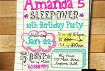 Kids Party Invitations / An easier way to plan your kids party
