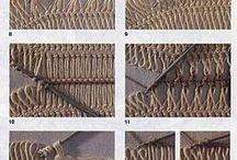 Netting fork-- φουρκέτα
