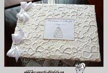GUESTBOOK ♥ / Hand-made Wedding Guestbook  GUESTBOOK - ALBUM MATRIMONIO