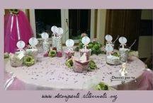 PALETTE CONFETTI ♥ CANDIES CARDS / PALETTE GUSTI CONFETTI MATRIMONIO, BATTESIMO ECC. Personalized cards for parties, wedding celebration