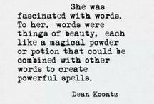 Words Are Beautiful! / Quotes and poems I like