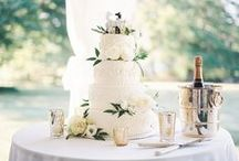 Wedding Cakes / Custom-designed wedding cakes made by Marietta's Cake Lady Johnnie Gabriel!