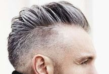 Men's Hairstyles : On Trend W2014-SS2015 / A collection of images. Projected hairstyle trends for men and what is being seen currently on the streets around the world.
