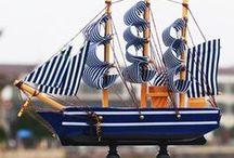 Barcos, Boats deco naútica / Decoración y accesorios náuticos, principalmente con barcos.
