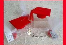 LAUREA ♥ DEGREE / bomboniere e decori per Laurea DEGREE FAVORS
