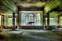 Lieux abandonnés / Je trouve un charme fou et une esthétique poétique aux lieux abandonnés