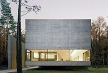 Concrete / Architecture and design, everything made out of concrete