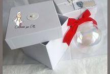 PALLINE NATALE ♥ CHRISTMAS BALL / PALLINE DI NATALE PERSONALIZZATE, IN VETRO SOFFIATO  Personalized christmas glass balls www.decoriperte.altervista.org
