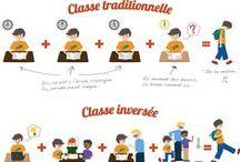 FLE: Le coin du prof / Pédagogie, organisation, idées pour la classe, supports, dossiers pédagogiques... / by La Frencherie - Mme Devine