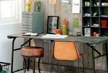 - Werkkamer - / Doe inspiratie op voor je werkkamer of kantoor. De leukste ideeën, trends en werkkamer voorbeelden vind je ook op: http://www.woontrendz.nl/werkkamer-inspiratie/