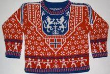 Norwegian knitting design / Norsk  strikke design