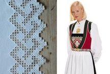 Hardanger Embroidery  / Hardanger broderi fra Norge
