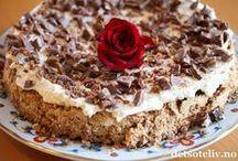 ~ Norwegian cakes ~ / Norske kaker