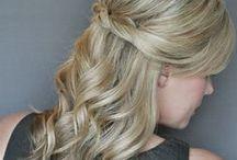updo med hair