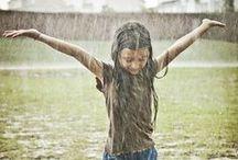 ☂  Raindrops keep falling...☂ / Regndråper faller