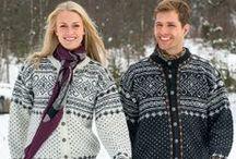 ~  Norwegian vintage knitting ~