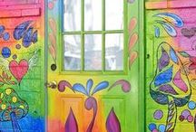 Life's Doorways / Life has many Doorways and we all take different paths in life! Here are the doorways to many of them!