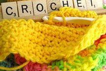 Haken-Crochet / Leuke Voorbeelden-Patronen-Diagrammen-Motiefjes-Steken. Misschien zit er iets leuks bij voor jullie. / by Ria Zirkzee