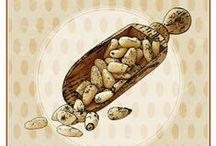 I gusti di OGGI / I cartelli dei gusti dei nostri mantecati.