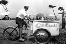 Gelato vintage / Il gelato. Una passione italiana che ci fa tornare bambini.