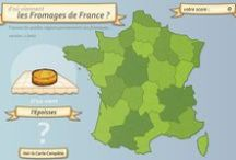 FLE: Cartes de France / by La Frencherie - Mme Devine