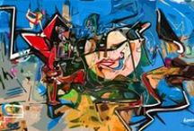 Abstract expressionism - By Dominic Brown