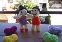 Coquetas / Muñecas a crochet - Amigurumi