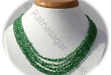 Tsavorite Gemstone Beads / Tsavorite gemstone - is the most beautiful green gemstone in the world today. This gemstone comes with a natural fresh green color, in a variety of shades, and scintillating brilliance. These gemstone beads are available in USA.