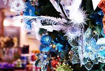 Holiday Decorating / Our store displays and inspiration for holiday cheer.