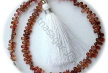 Brown Zircon Gemstone Beads / Brown Zircon Gemstone - this gemstone delivers mental peace to the wearer.