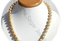 South Sea Pearl Gemstone / South Sea Pearl - these pearls are crafted in different types of jewelry items including necklaces, earrings, bracelets, and rings. Wedding rings crafted with these pearls are considered as the best way of exhibiting the love and commitment towards spouse. These gemstones are available online at Ratna Sagar Jewels.