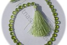 Peridot Gemstone Beads / Peridot Gemstone - The use of this gemstone beads is helpful in treatment of liver. It is also helpful in treatment of problems arising in bladder, stomach and kidneys. These gemstones are available online at Ratna Sagar Jewels.