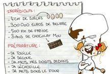 FLE: Nourriture - recettes / by La Frencherie - Mme Devine
