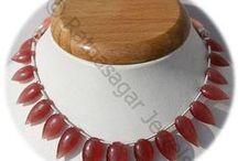 Rhodochrosite Gemstone Beads / Rhodochrosite Gemstone - Use of this gemstone enhances the physical and spiritual energies of the user. It is helpful in eliminating the depression and boosts the user with optimism and energy by enhancing his/her self confidence. It also generates the feeling of positive and creative thinking. These Gemstone Beads are available online at Ratna Sagar Jewels.