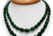 Emerald Gemstone Beads / Emerald Gemstone - is one of the most expensive gemstones used for developing various jewelry items. This gemstone enhances the prosperity of the wearer and blesses his family. These Gemstone Beads are available online at Ratna Sagar Jewels.