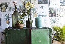 - Botanische prints - / De woontrend van 2015! Botanische prints. In zowel behang, posters, prints en woonaccessoires.