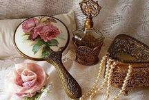 ~ Vintage Dresser Sets ~