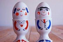 ~ Vintage Egg Cups ~